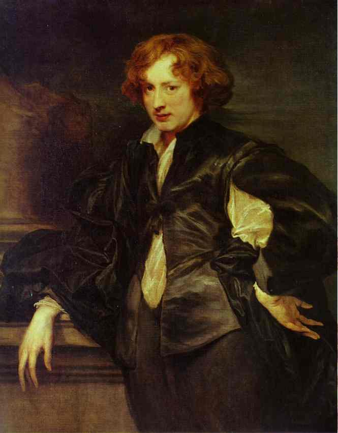 Oil painting:Self-Portrait. 1620