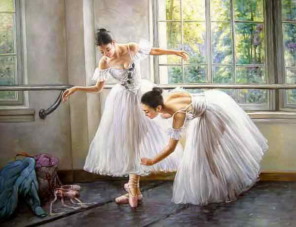 Oil painting for sale:Ballet_4