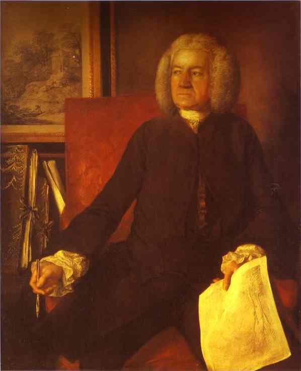 Oil painting:Robert Price. c.1760