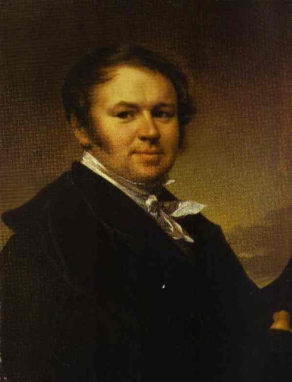 Oil painting:Self-Portrait. 1830s