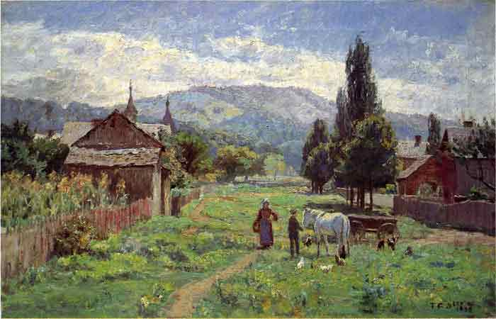 Oil painting for sale:Cumberland Mountains, 1899