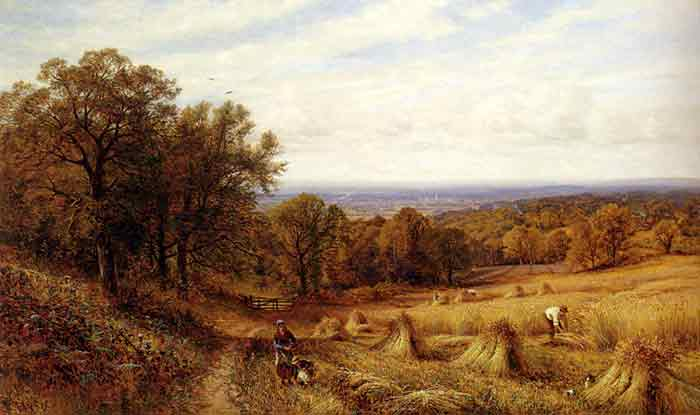 Oil painting for sale:Harvest Time, 1889