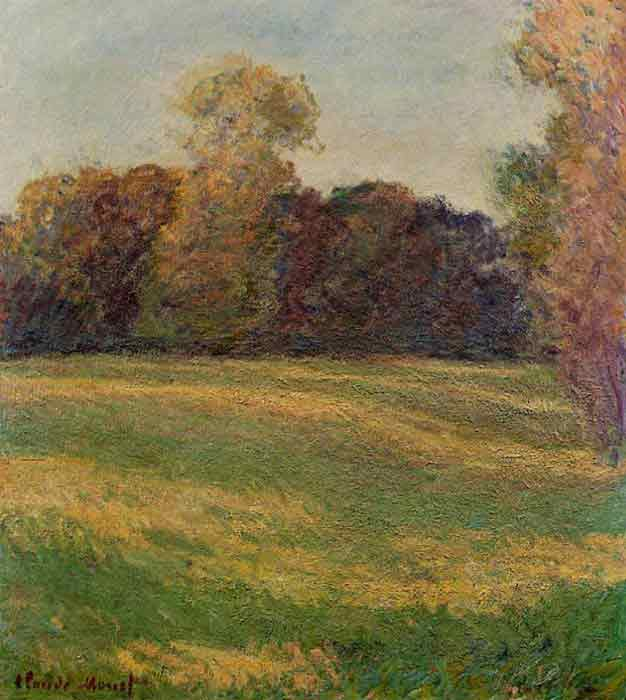 Oil painting for sale:Meadow in the Sun , 1886