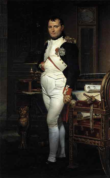 Oil painting for sale:Napoleon in his Study, 1812