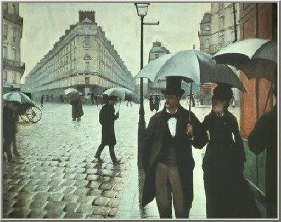 Oil painting for sale:Rainy Day, Paris