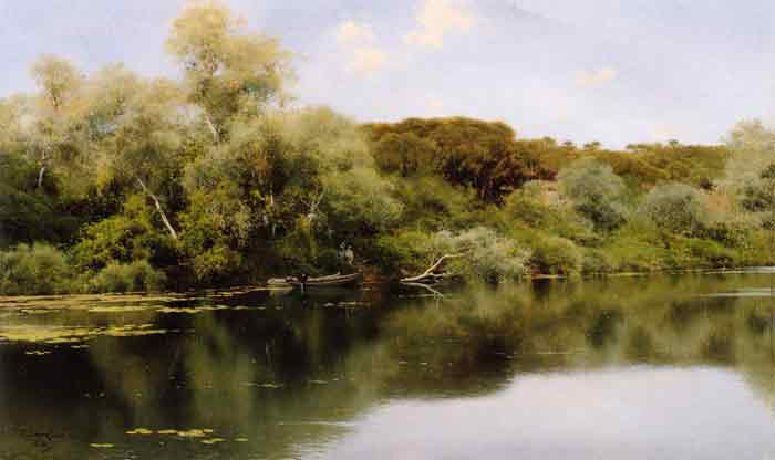 Oil painting for sale:Rio Alcala