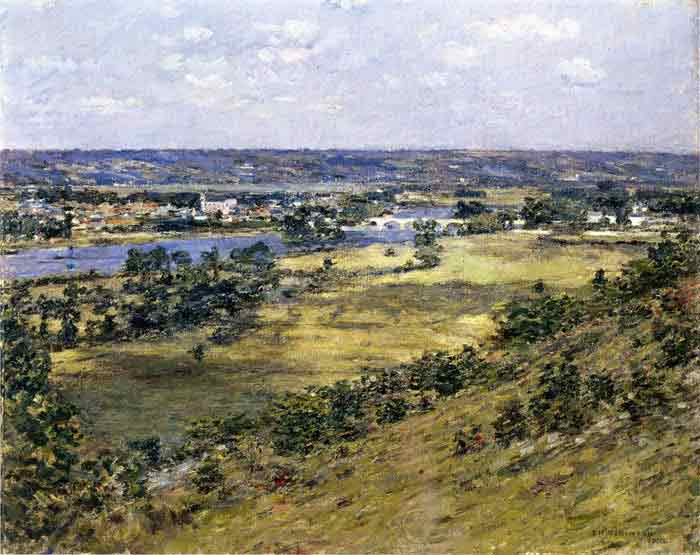 Oil painting for sale:Valley of the Seine, 1892