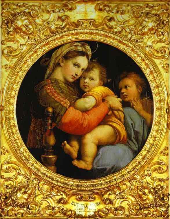 Madonna della Sedia. 1512-1514