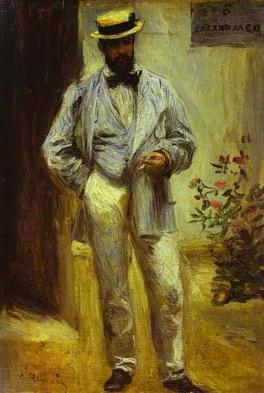 Portrait of Charles Le Coeur. 1874