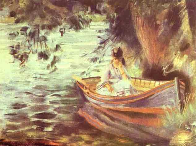 Woman in a Boat. 1867