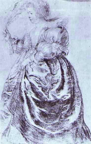 Young Woman with an Ostrich Plum. 1632