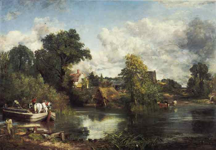 Oil painting for sale:The White Horse, 1819