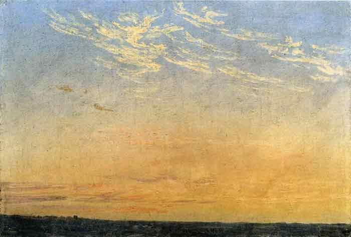 Oil painting for sale:Evening, 1824