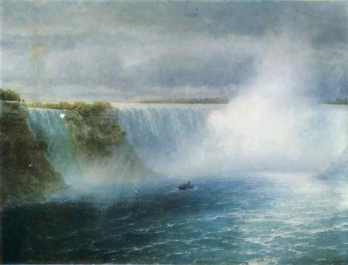 Oil painting for sale:Niagara Falls, 1893