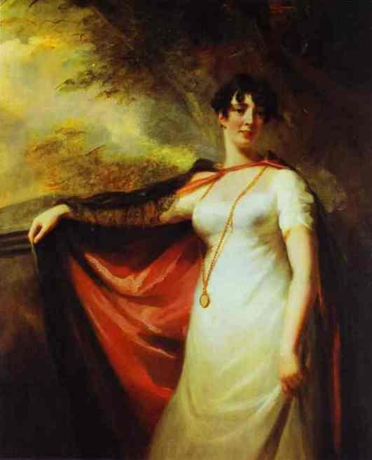 Oil painting:Portrait of Mrs. Anne Hart. c.1810