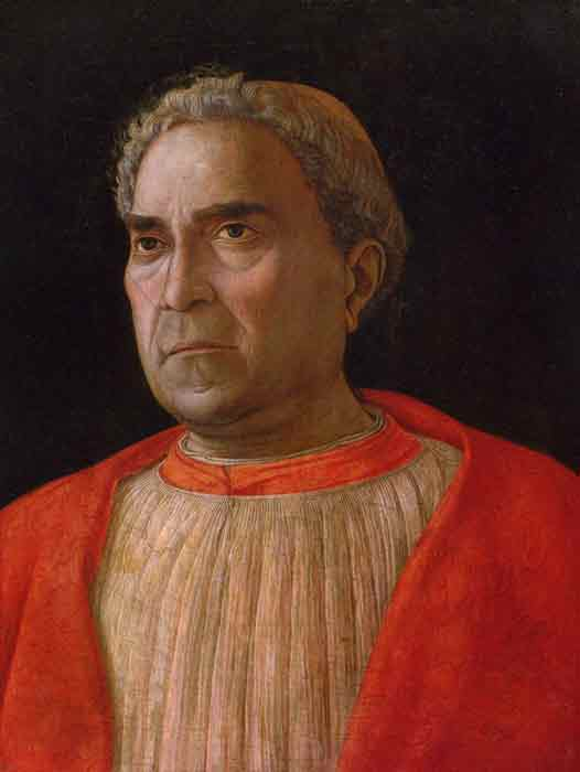 Oil painting for sale:Portrait of Cardinal Lodovico Trevisano, c.1459-1469