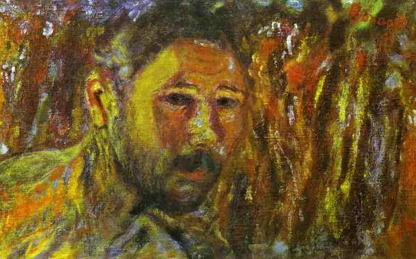 Oil painting:Self-Portrait with a Beard. 1920