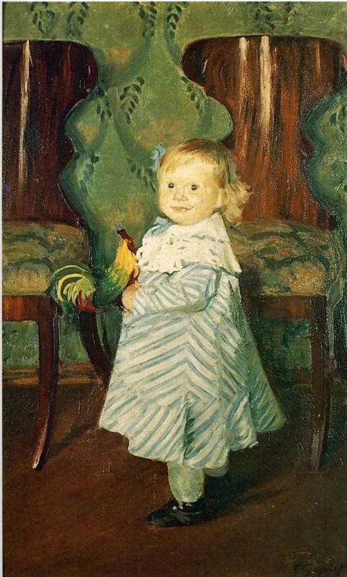 Oil painting: Irina. 1906