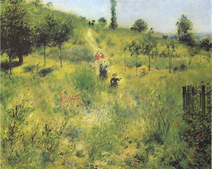 Oil painting for sale:Country Footpath in the Summer, 1874
