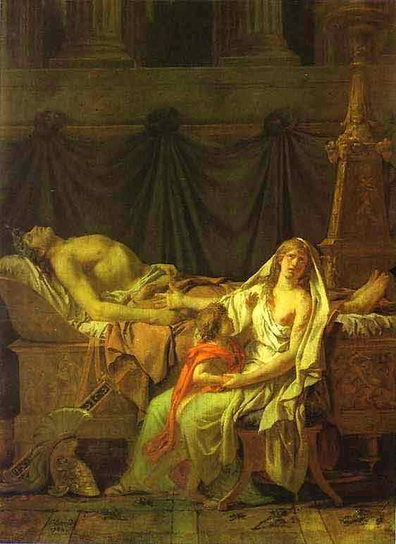 Andromache Mourning Hector. 1783