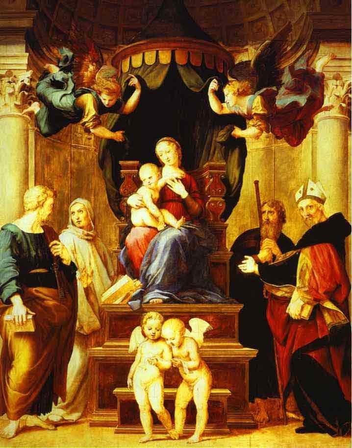 Madonna with the Baldachino. 1507