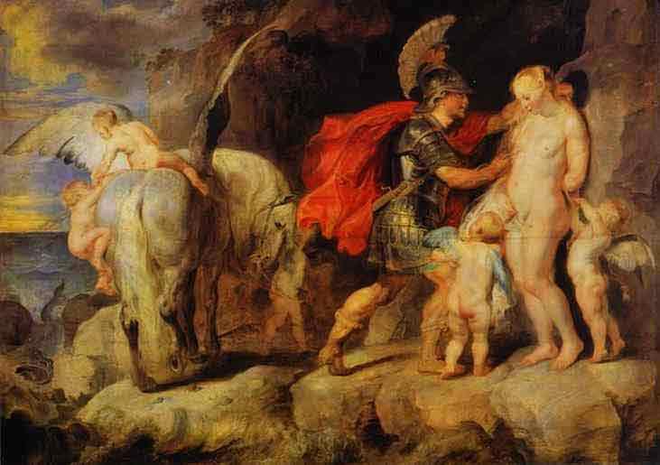 Perseus Liberating Andromeda. 1622