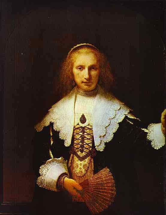 Portrait of Agatha Bas, Wife of Nicolas van Bambeeck. 1641