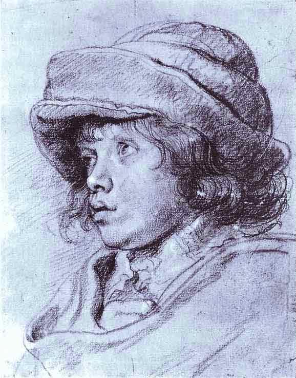 Portrait of Nicholas Rubens. 1625
