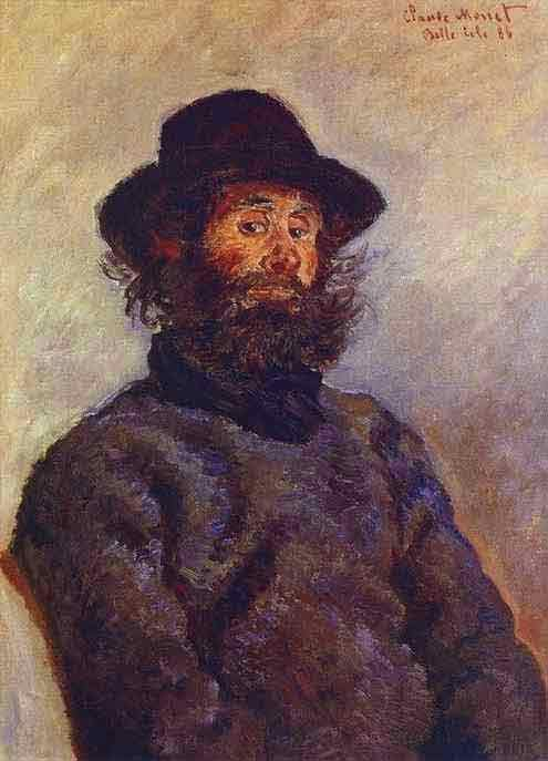Portrait of Poly, the Fisherman from Belle-Ile 1886.