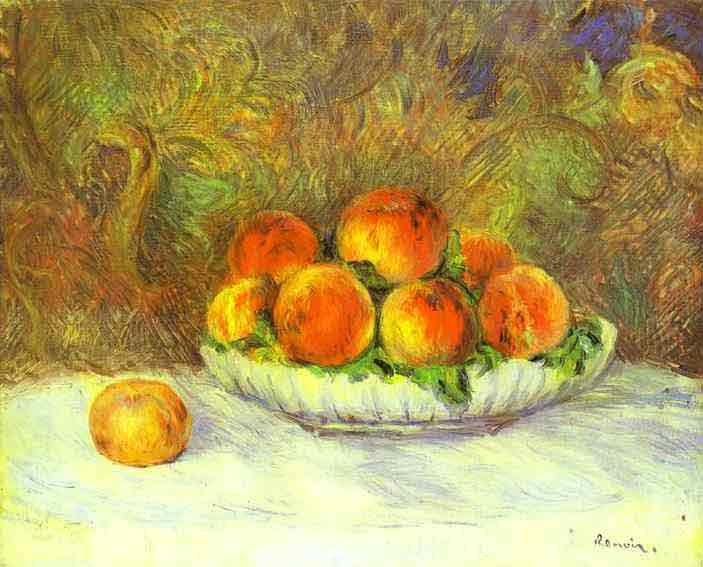 Still Life with Peaches. c.1880