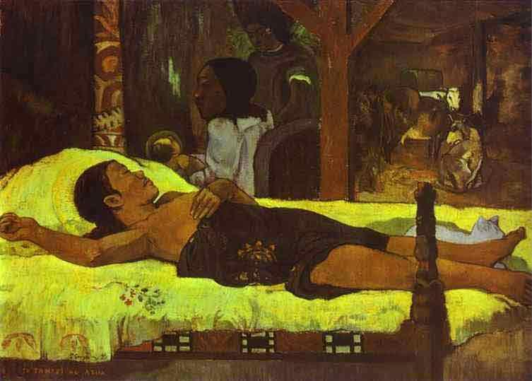 Te Tamari No Atua (Nativity). 1896
