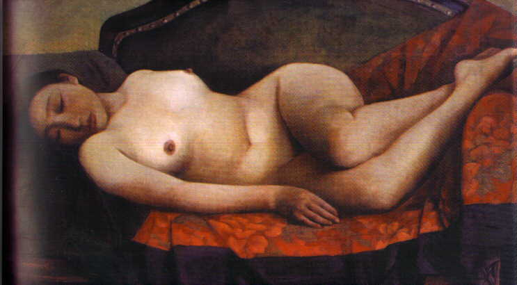 Oil painting for sale:nude-005