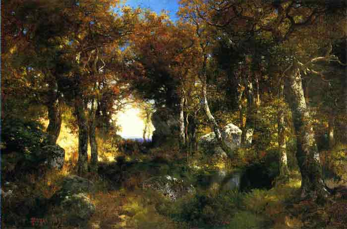Oil painting for sale:The Woodland Pool, 1909