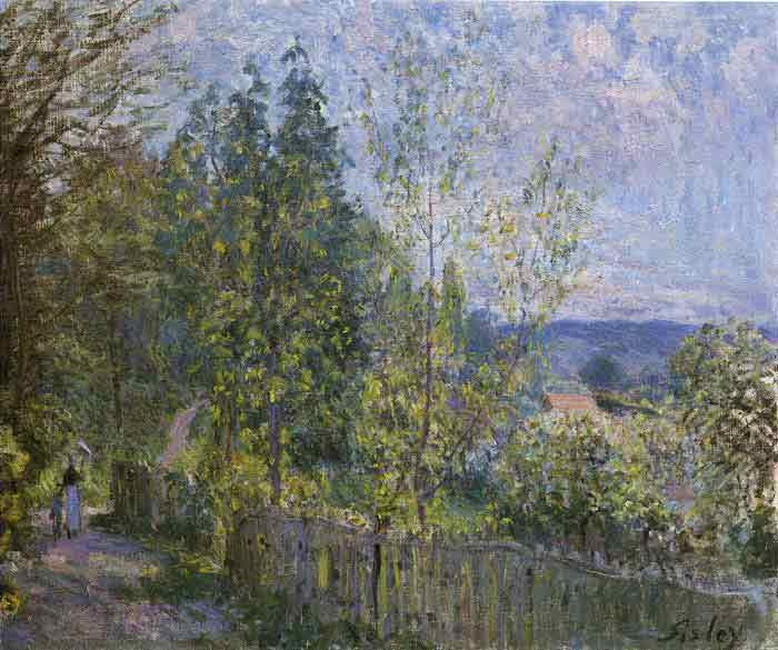Oil painting for sale:Forest Path, 1879