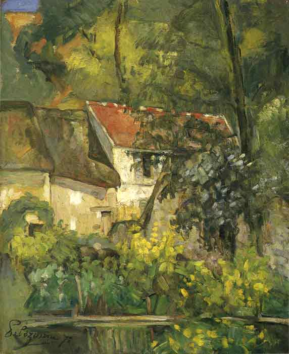 Oil painting for sale:The House of Pere Lacroix in Auvers, 1873