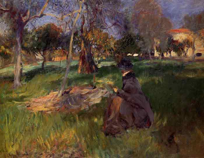 Oil painting for sale:In the Orchard , 1886