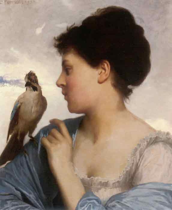 Oil painting for sale:The Bird Charmer, 1873