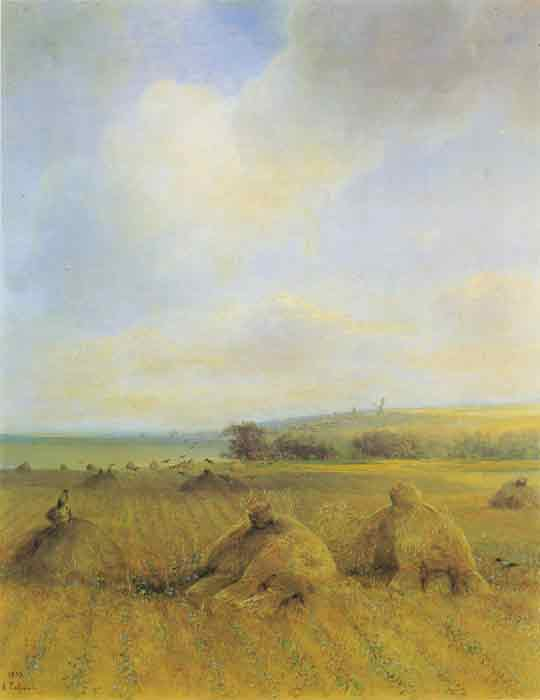 Oil painting for sale:The End of The Summer Near Volga, 1873