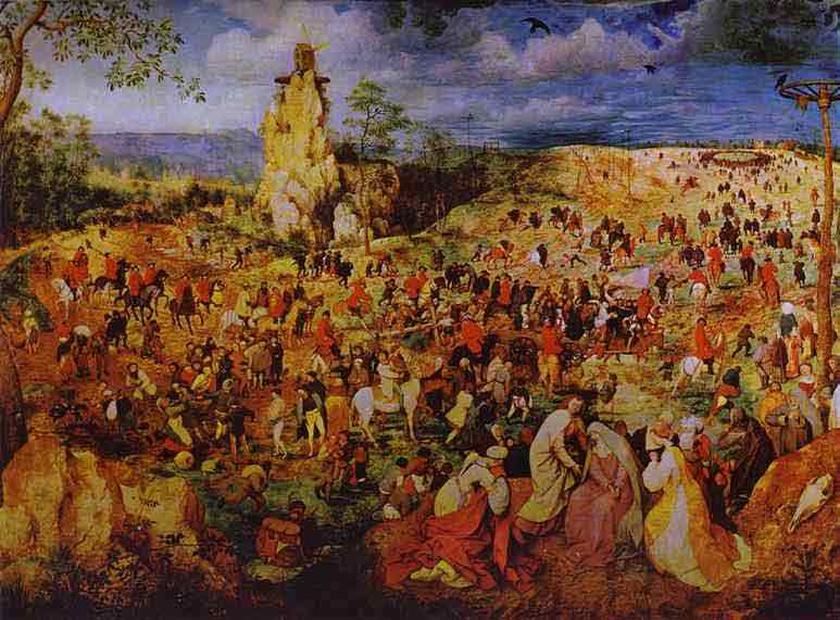 The Procession to Calvary. 1564