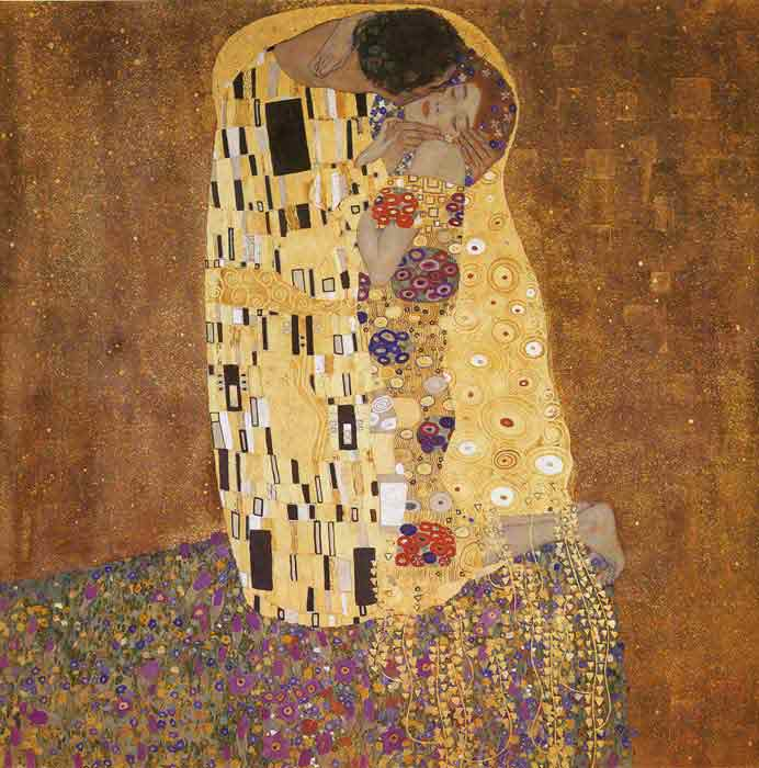 Oil painting for sale:The Kiss, 1907