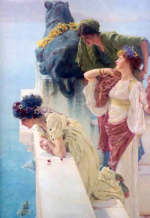 Oil painting for sale:A Coign of Vantage, 1895