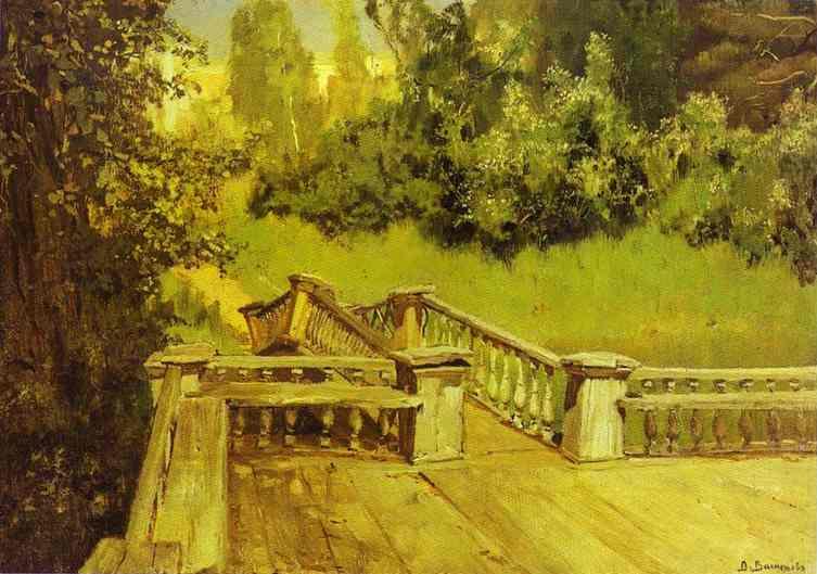 Oil painting:Akhtyrka. 1879