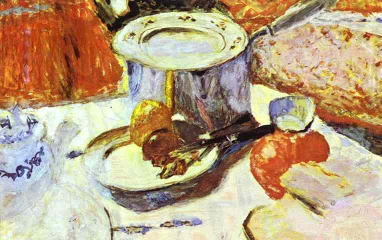 Oil painting:Pots. 1930