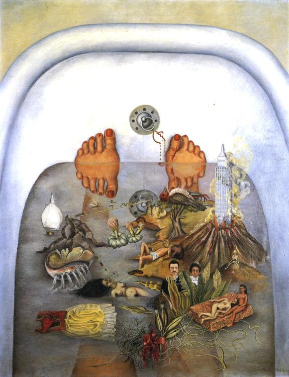 Oil painting:What the Water Gave Me. 1938