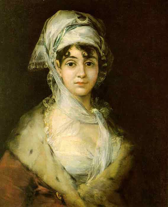 Oil painting for sale:Antonia Zarate, 1811