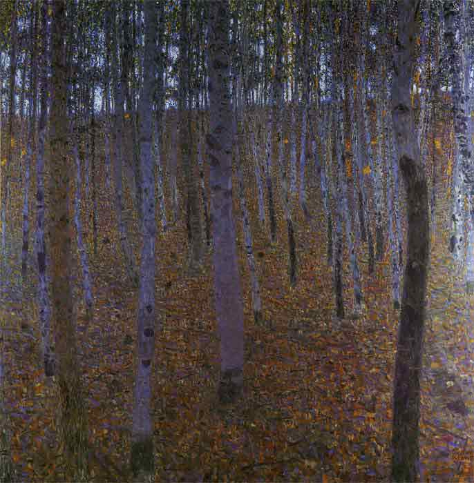 Oil painting for sale:Beech Wood I, 1902