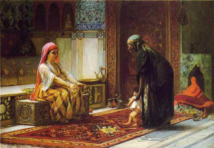Oil painting for sale:Mother and Child, 1878