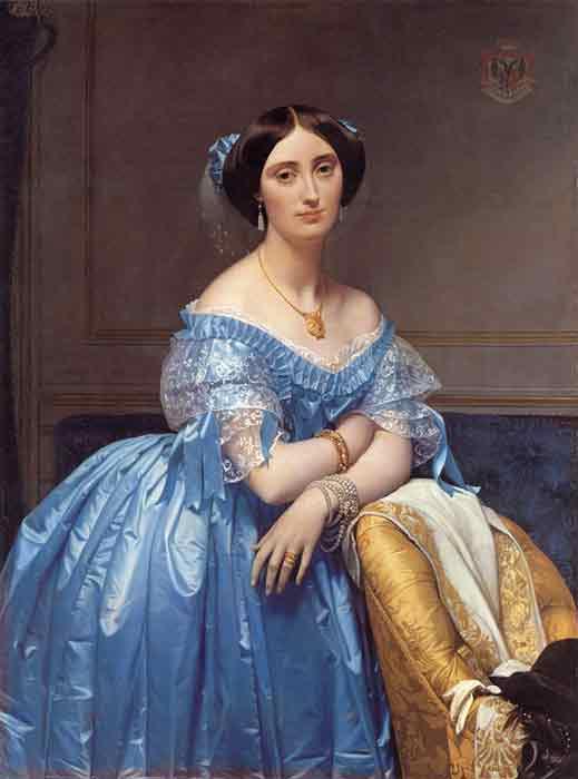 Oil painting for sale:Pauline Eleanore de Galard de Brassac de Bearn, Princesse de Broglie , 1853