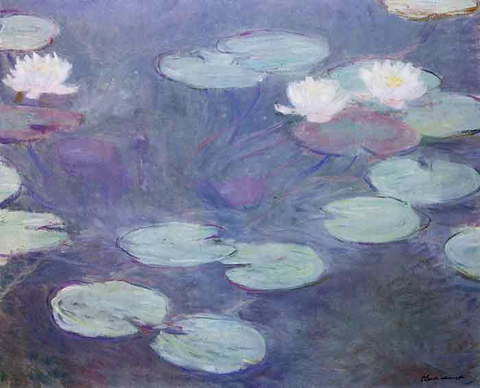 Oil painting for sale:Pink Water-Lilies , 1897
