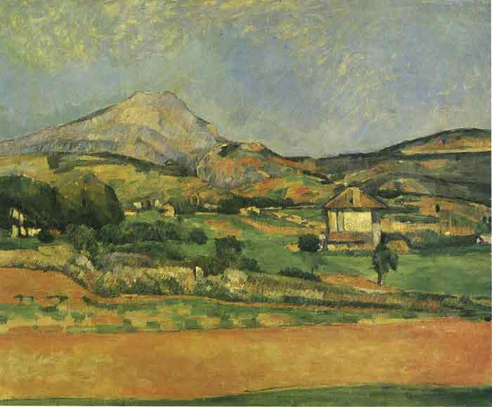 Oil painting for sale:Sainte- Victoire Mountain, 1885